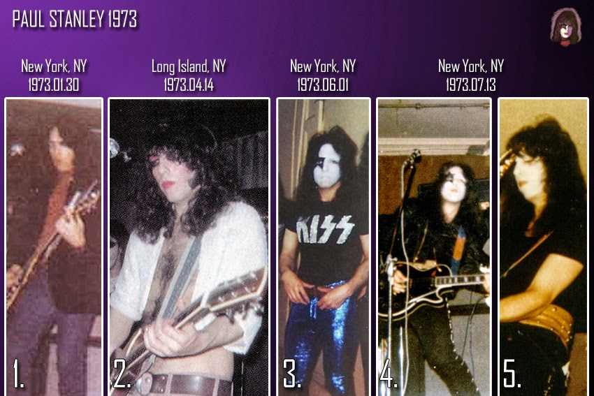 THE COSTUMES OF PAUL STANLEY 1973Paul Stanley 1973