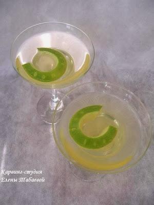 украшение напитков карвинг фруктов