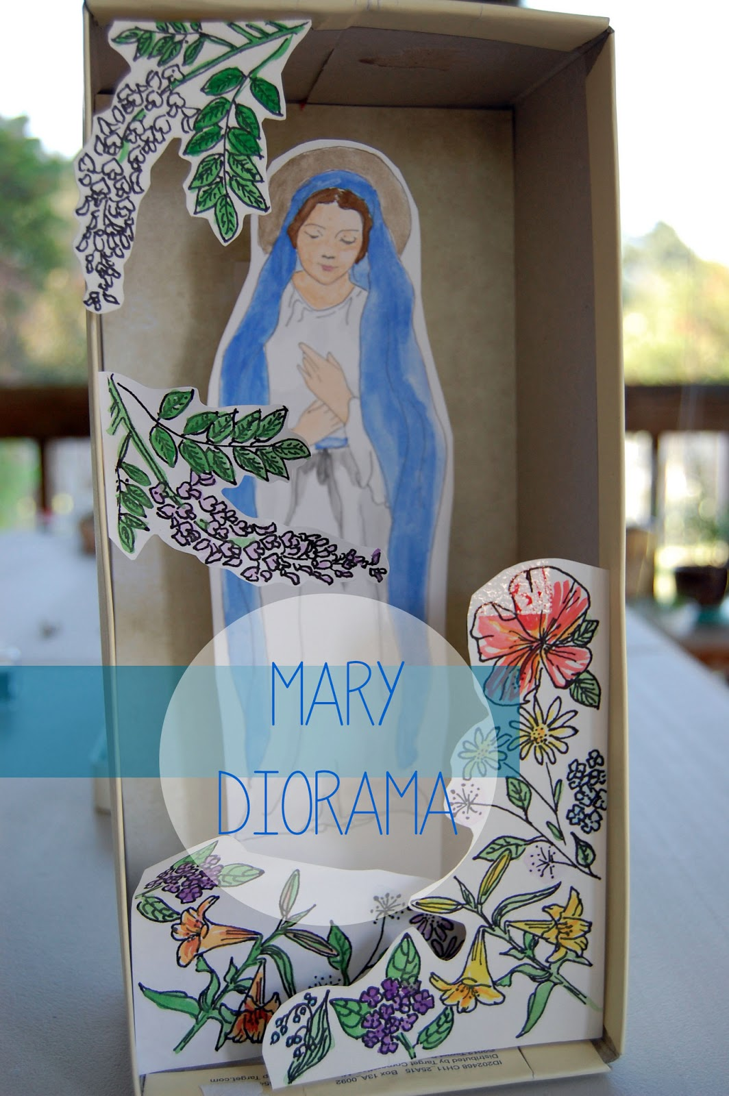 Doodle la may is the month of mary for Craft of the month