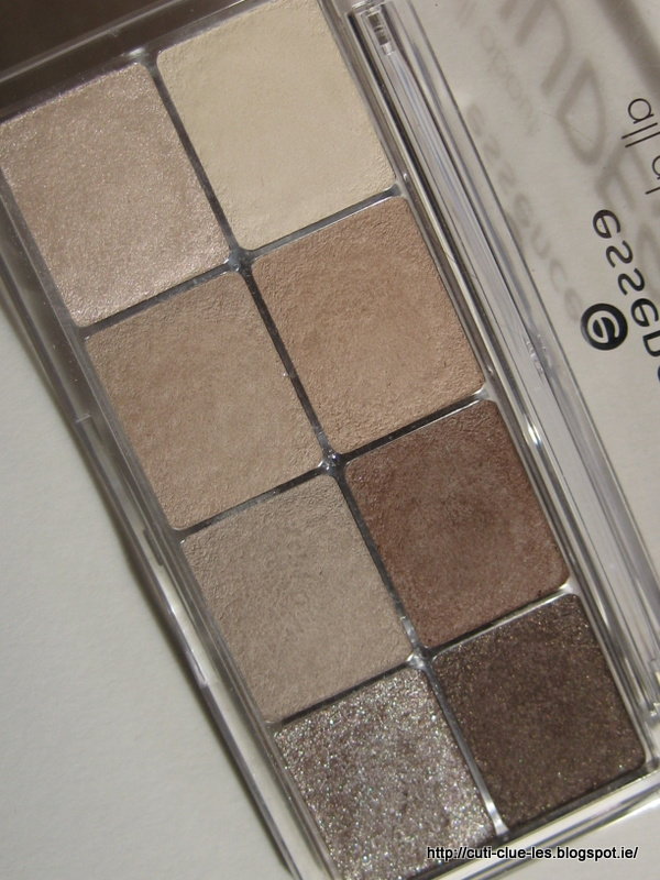 Cuti-CLUE-les: Essence All about Nudes, Roses and Greys eye-shadow ...