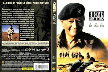 Cover, dvd, carátula: Boinas verdes | 1968 | The Green Berets