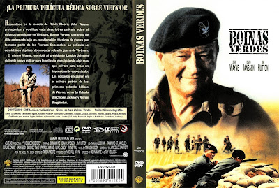 Cover, dvd, carátula:Boinas verdes | 1968 | The Green Berets