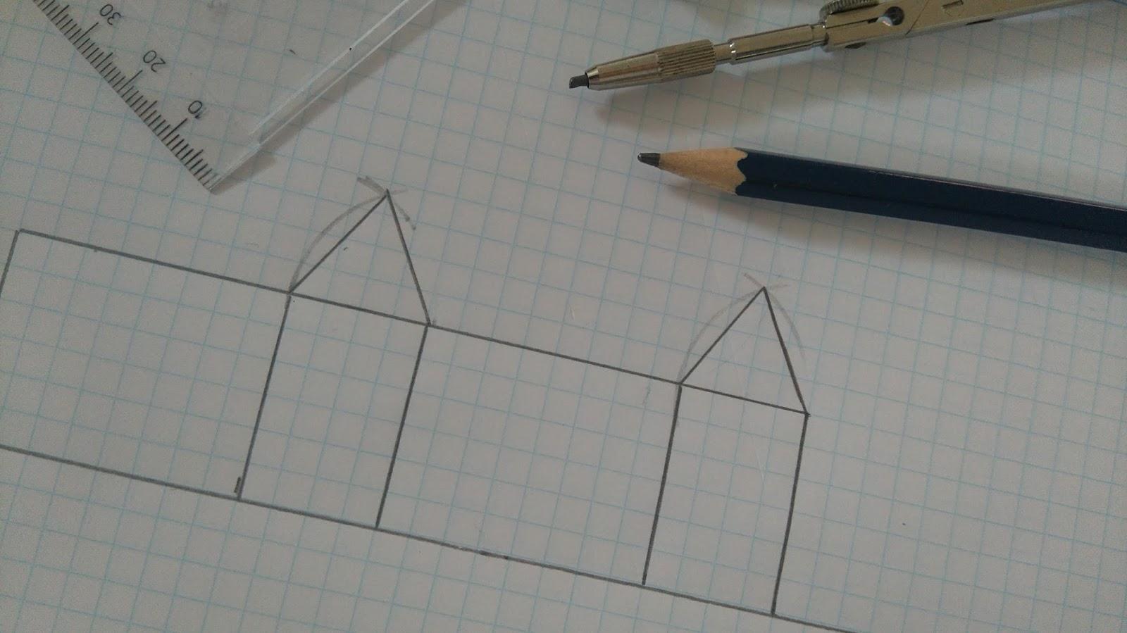 højden af en ligesidet trekant