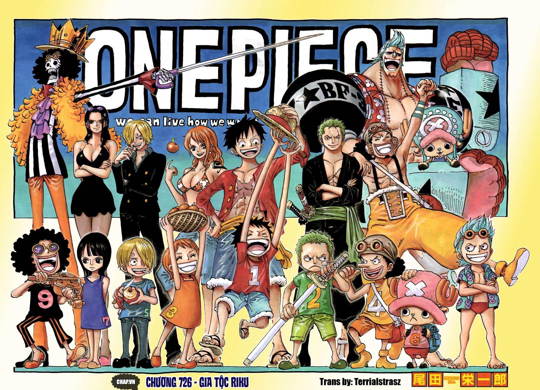 One Piece Chapter 726: Gia tộc Riku 002