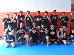 Itogym Mestre Ailton Pedro e alunos na Cross Fit