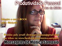 E-book PRODUTIVIDADE PESSOAL À LUZ DA BÍBLIA - Mensagens de Mônica Sampaio