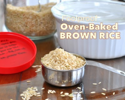 Cook's Illustrated's recipe for Foolproof Oven-Baked Brown Rice, turns out moist, nutty and perfect every time. Rave reviews from home cooks everywhere.