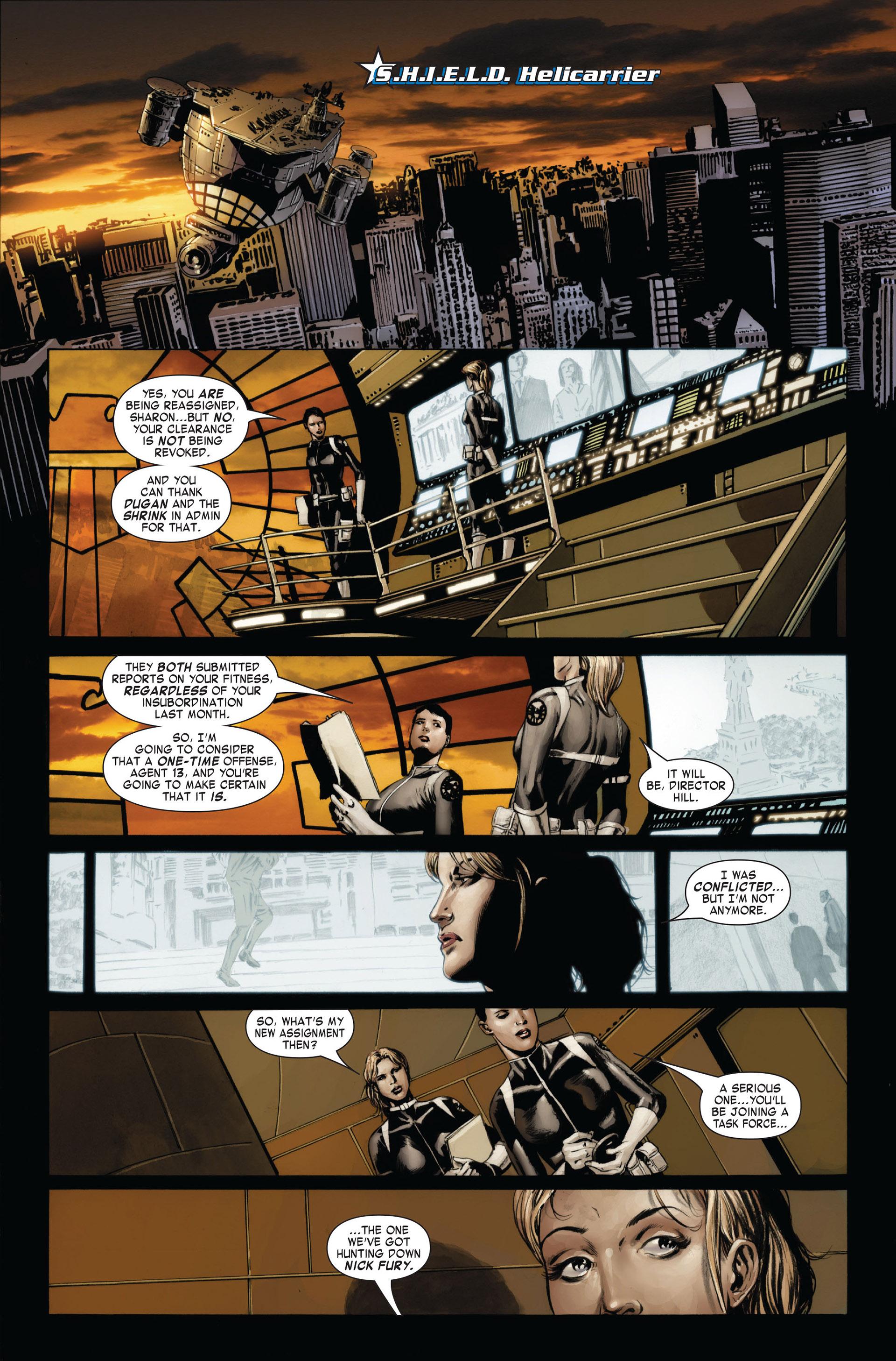 Captain America (2005) Issue #24 #24 - English 3