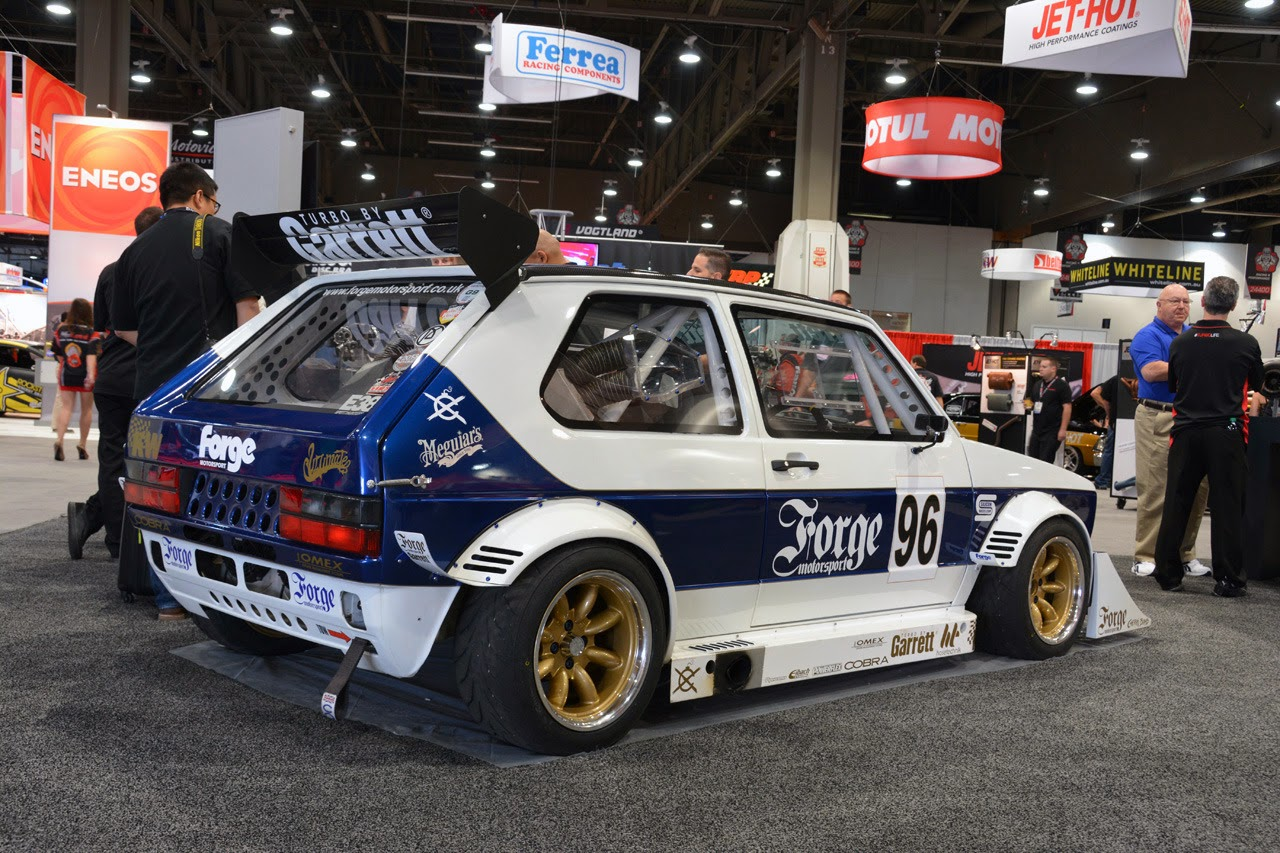 Forge Motorsports Mk1 VW Golf SEMA 2013 Photos Latest
