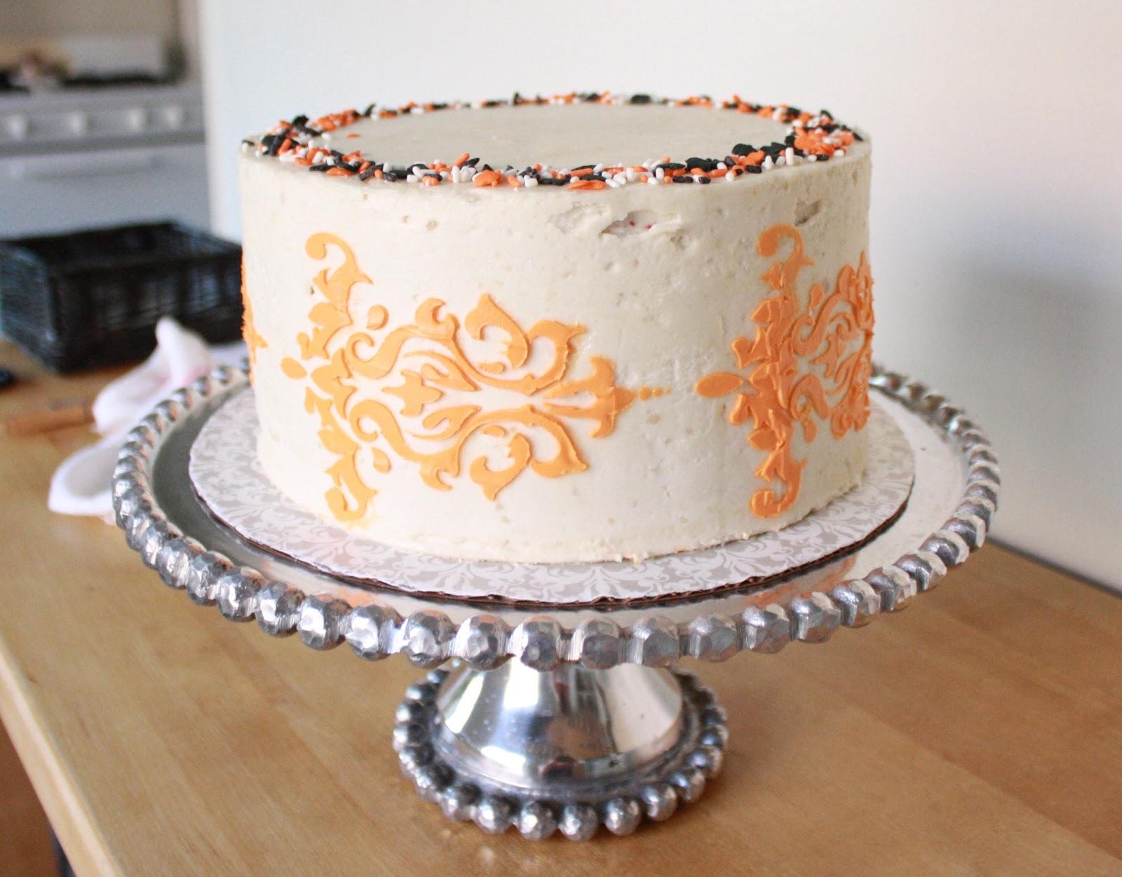 A Cake Story: A Halloween Cake: Waldorf Astoria Red Velvet