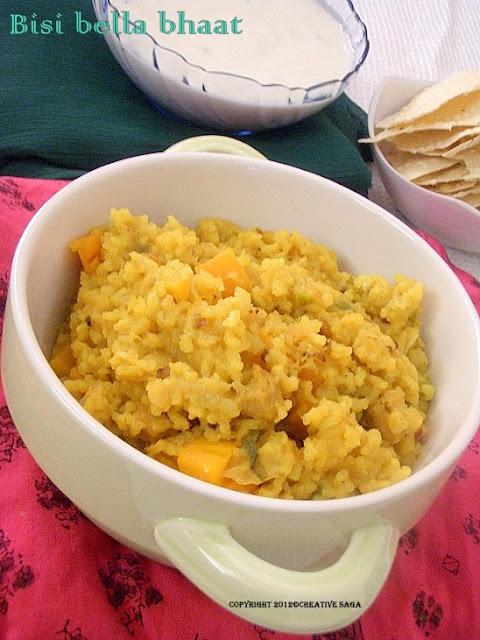 bisi bella bhaat recipe