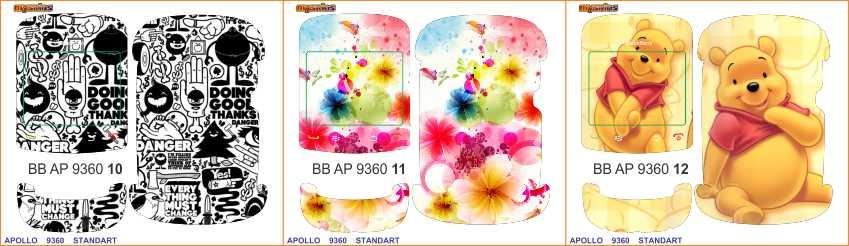 Download Gratis Walpaper BlackBerry Apollo 9360 Aneka Skin