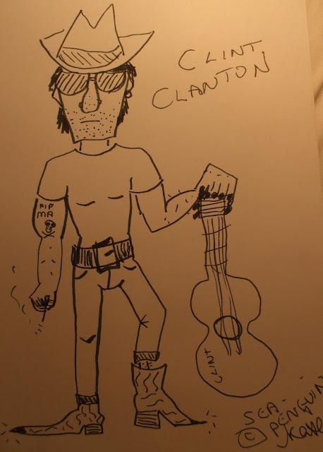 clint clanton by sea penguin 21/09/2012
