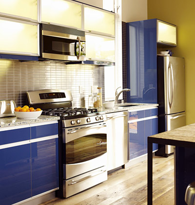 Kitchen set type kitchen set design layout tips for Kitchen design one wall