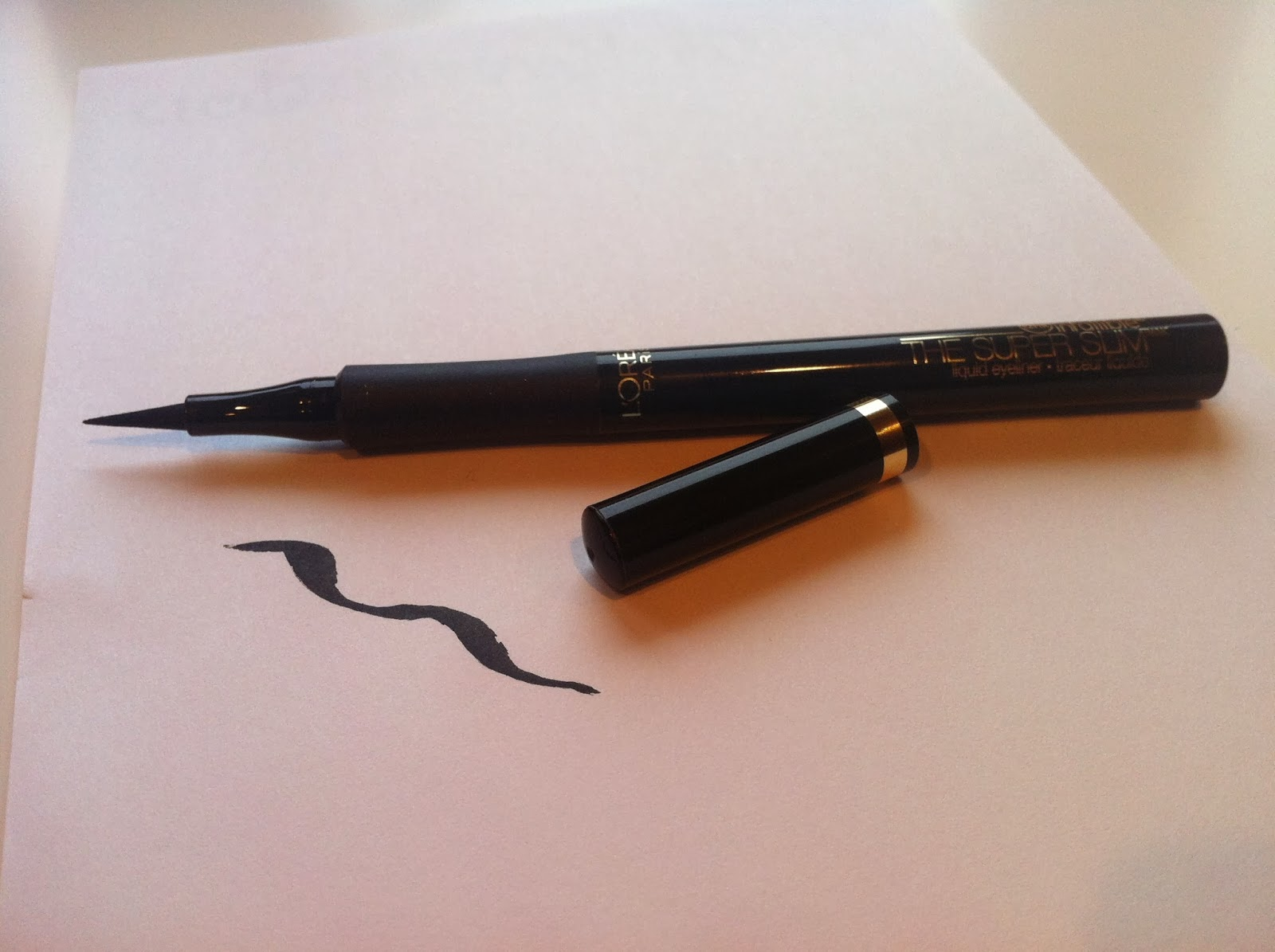 Review: L'Oréal Infallible The Super Slim Liquid Eyeliner | Blush ...