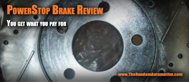 powerstop brake review ford mustang v6 uprage brakes random automotive