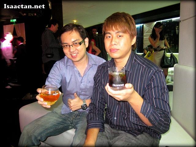 Benjamin Foo and Isaac Tan