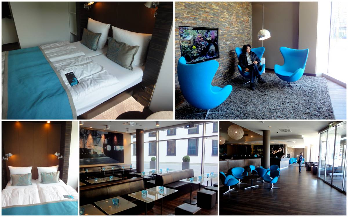 motel one in hamburg am michel brasileiros mundo afora. Black Bedroom Furniture Sets. Home Design Ideas