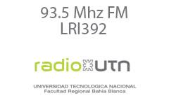 Radio UTN, Bahía Blanca - FM 93.5 - LRI 392