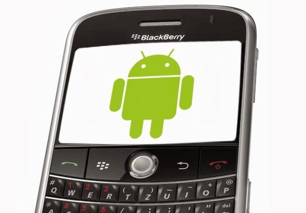 OS dan Jenis Blackberry untuk Menjalankan Aplikasi Android