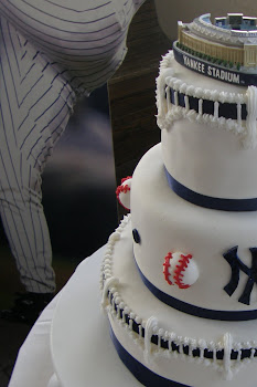 3-tier round fondant cake