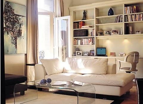 M nica dise os decorar un living con color - Diseno de pintura para interiores ...