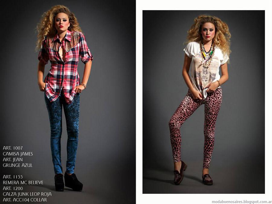Moda camisas otoño invierno 2015 Sophya