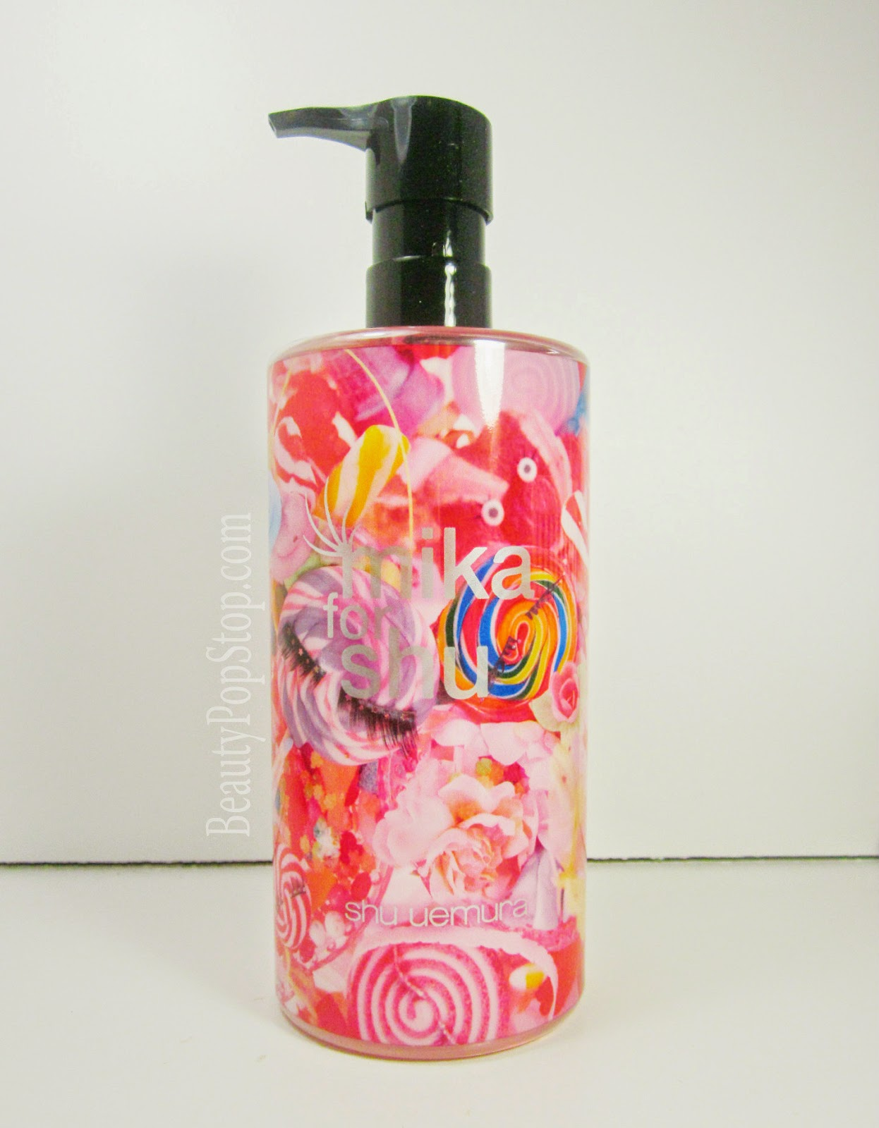 mika for shu uemura prefinist anti-shine fresh cleansing oil review