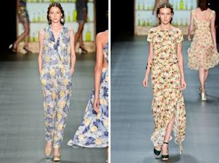 macacão e vestido longo tendência primavera verão 2013 fashion rio