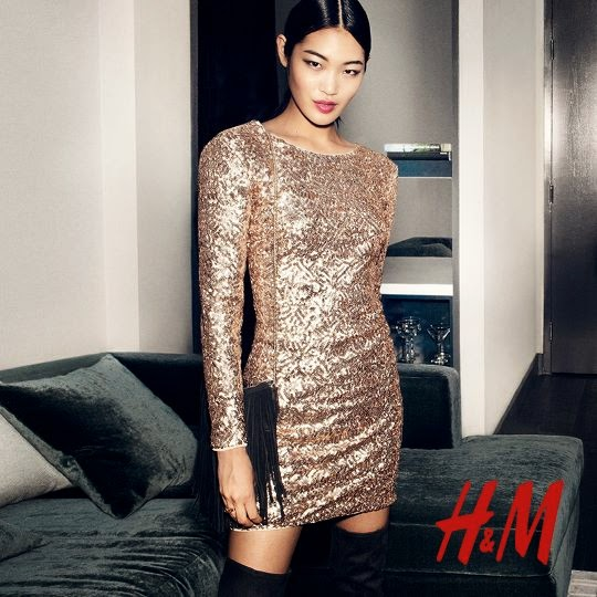 H&M 'Sparkling Statement' Holiday 2014 Lookbook