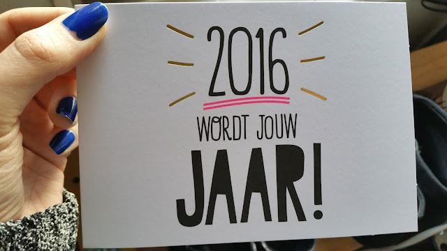 stralend jaar kaartje