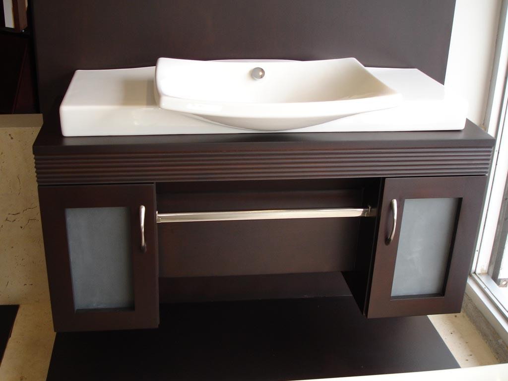 Como hacer mueble para lavabo stunning lavabo original de for Fotos muebles de bano