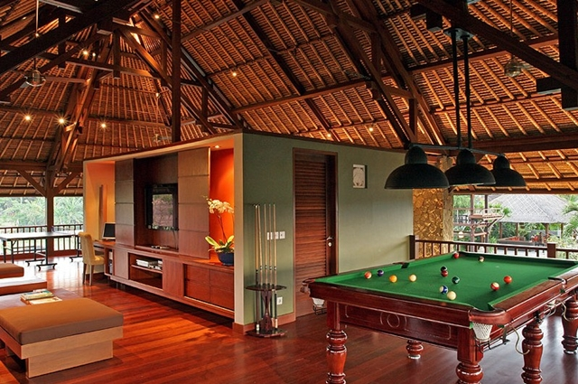 Pool room at the Villa Asta, Rental Vacation Villa, Bali
