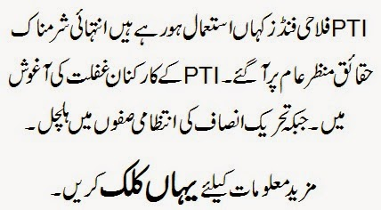Pti Misuses of Funds