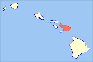 Maui location Map Pictures