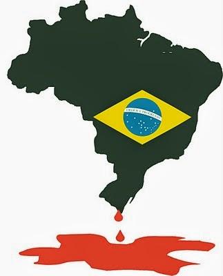 O País sangra...