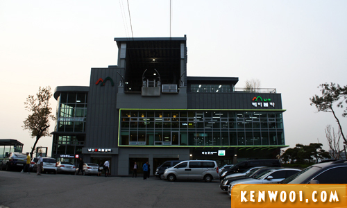 seoul namsan cable car