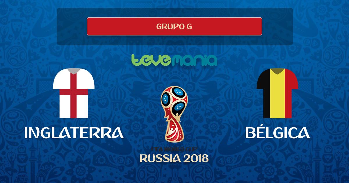 Bélgica se corona primero del Grupo G al ganar 1-0 a Inglaterra