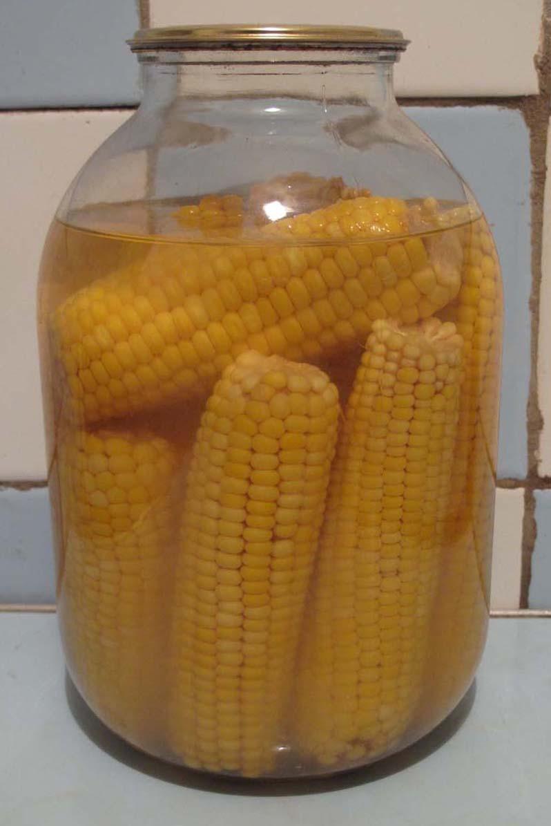 Консервирование кукурузы в домашних условиях в зернах 179