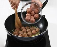 Resep Bola Daging Keju Brokoli
