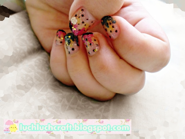 ice cream nail art tutorial