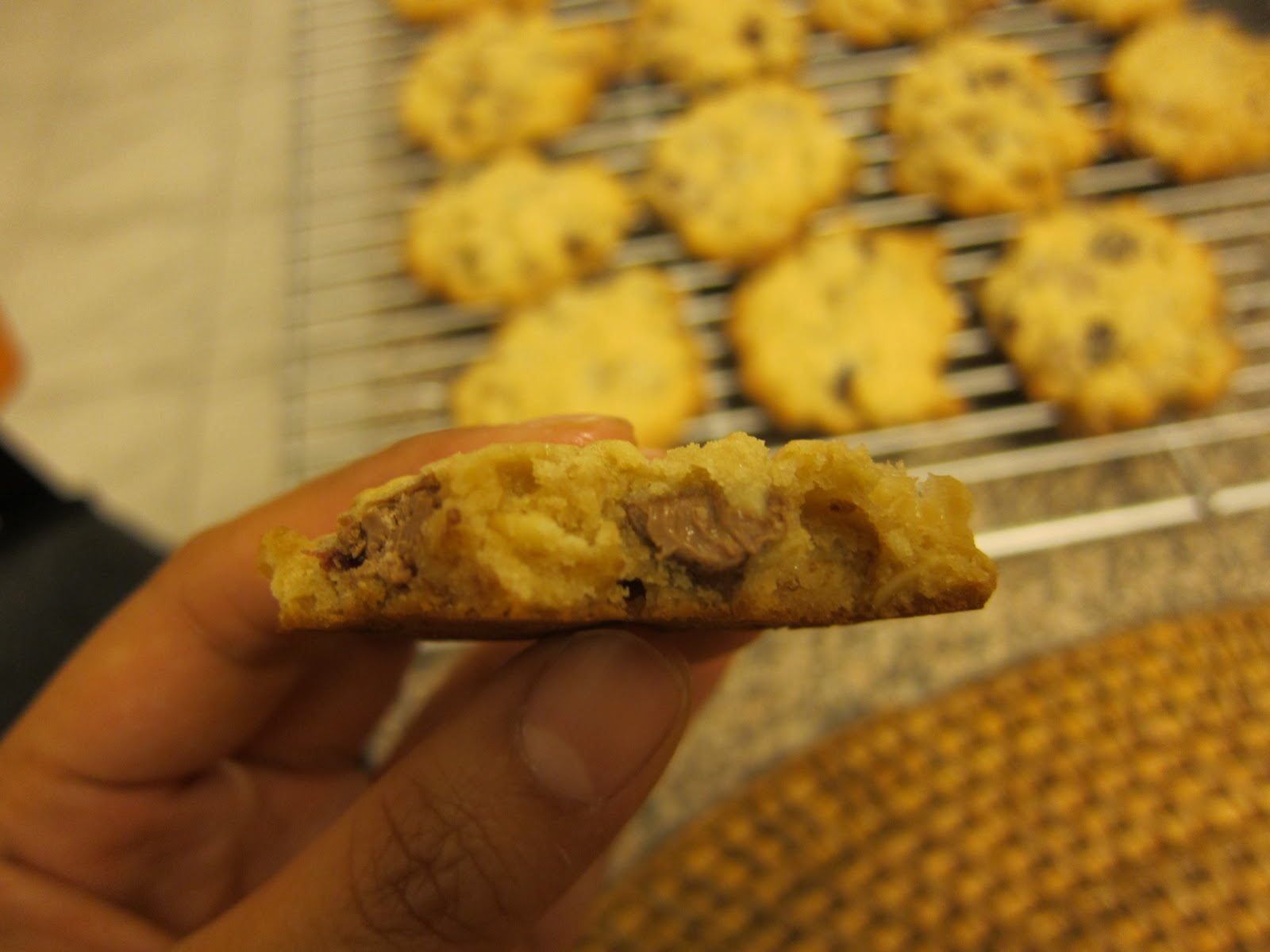 how to make chocolate oatmeal cookies harden