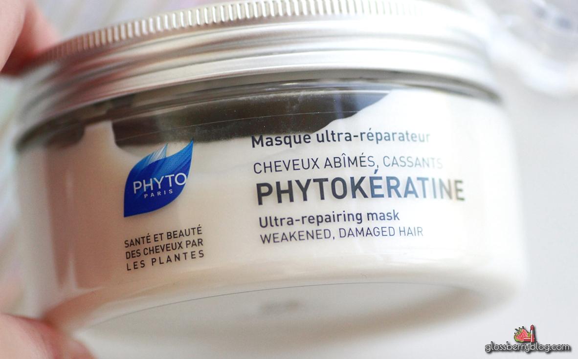סדרת פיטו-קראטין לשיער / PHYTOKERATINE phyto mask shampoo serum שמפו סרום מסכה סקירה review