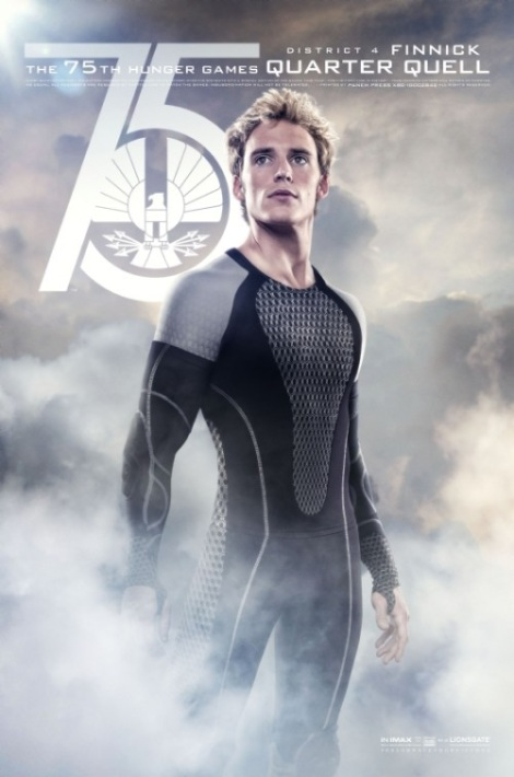 Finnick Catching Fire Movie Poster
