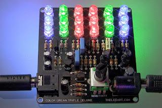 Bargraph com LEDs