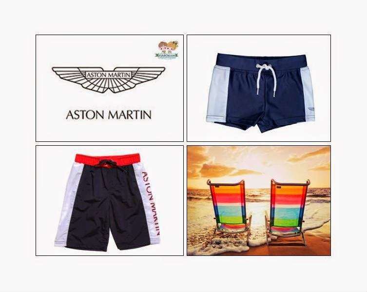 Aston Martin - Swim Shorts For Boys