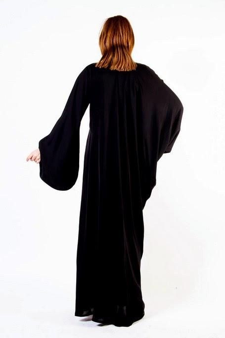 Classic Embroidered Abaya And Hijab Fashion 2014-2015 - She9 | Change The Life Style