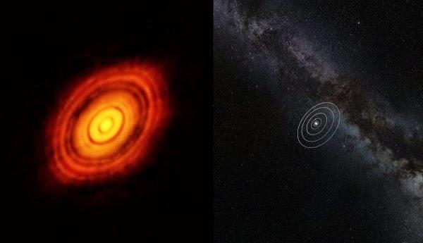 Sistema solar em formação