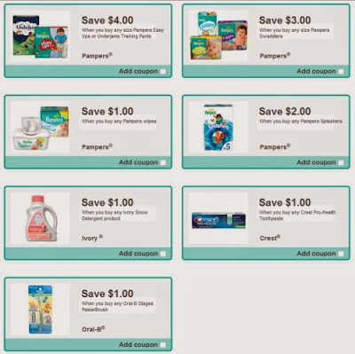 Pampers splashers coupons 2018