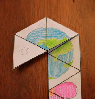 http://momgineer.blogspot.com/2013/04/earth-tri-hexaflexagons.html